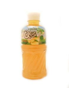 Cozzo Qbic Mango Juice Drink with Nata De Coco [Coconut Gel] | Buy Online at the Asian Cookshop